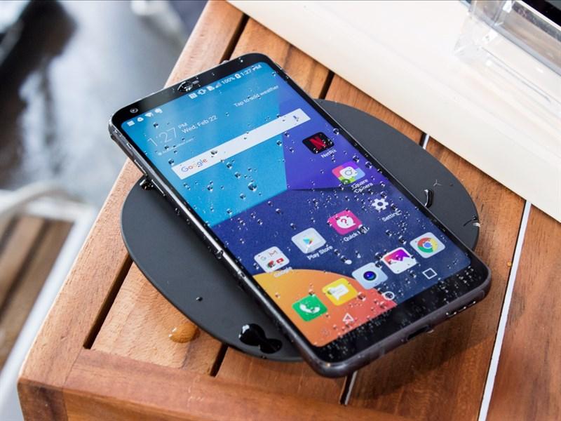 LG G6 chống nước