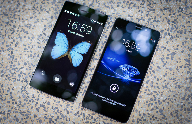 Bphone vs Mobiistar