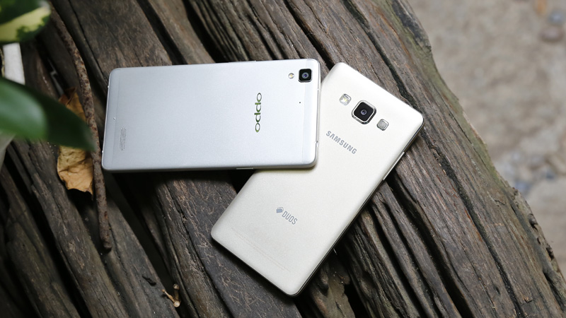 OPPO và Samsung
