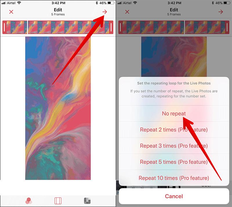 Hình nền động iPhone X