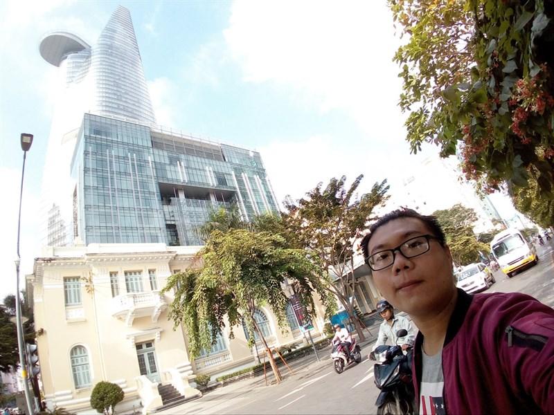Selfie bằng camera kép Mobiistar S2 Dual 006