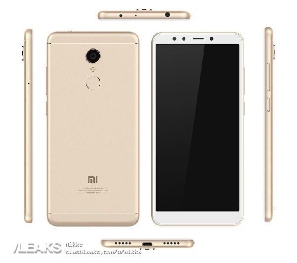 Xiaomi Redmi 5 lộ ảnh báo chí đẹp mắt