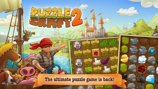 Puzzle Craft 2 game nông trại