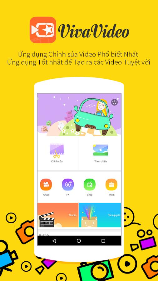 VivaVideo | Video biên tập trên Android và Iphone