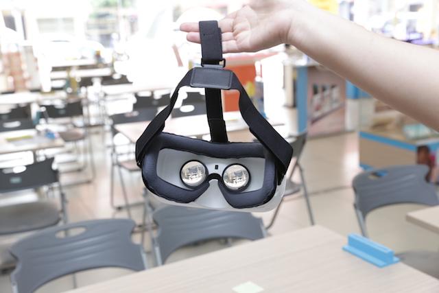 Tổng thể của Gear VR khá nhẹ nhàng