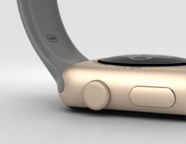 Apple Watch S2 38mm - Nút bấm đa năng