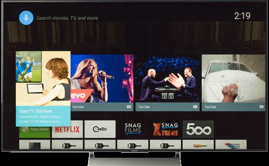 "Smart TV SONY 75"""