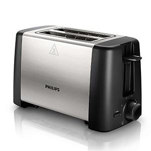 Máy nướng sandwich Philips HD4825 (Đen phối bạc)