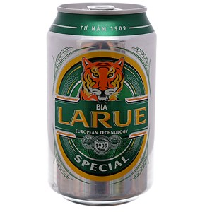 Bia Larue Lager Special lon 330ml