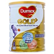 Sữa bột Dumex Gold+ 4 800g (cho bé 2-6 tuổi)