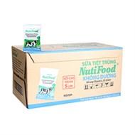 Sữa tiệt trùng NutiFood không đường 220ml (Thùng 48 bịch )