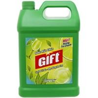 Nước rửa chén Gift hương Trà Chanh can 4 Kg