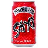 Nước ngọt Wonderfarm hương Sá Xị lon 320ml