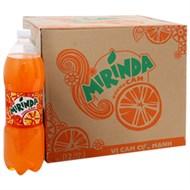 Nước ngọt Mirinda hương cam chai 1.5 lít (thùng 12 chai)