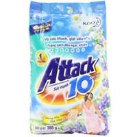 Bột giặt Attack hương hoa Nắng tinh khôi 360g