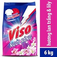 Bột giặt Viso Ngời sáng hương Lan Trắng & Lily 6kg