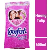 Nước xả Comfort Thái hương Tulip túi 600ml