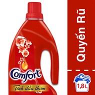 Nước xả  Comfort Tinh dầu thơm Quyến rũ chai 1.8 lít