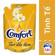 Nước xả Comfort Tinh dầu thơm Tinh tế túi 1.6 lít