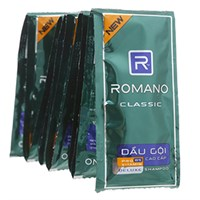 Dầu gội Romano Classic Deluxe Shampoo 5g (dây 10 gói)