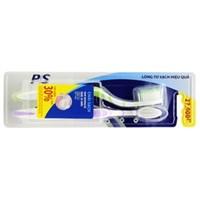 Bàn chải đánh răng P/S lông tơ sạch hiệu quả (2 cái)