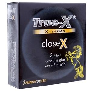 Bao cao su True-X CloseX 49mm (hộp 3 cái)