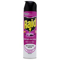 Bình xịt côn trùng Raid không mùi 600ml