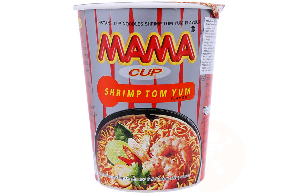 Mì ly Mama hương vị Tôm Tom Yum 60g