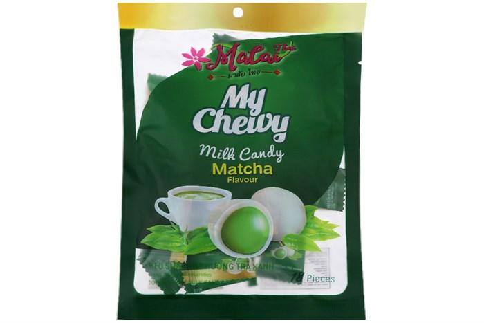 Kẹo sữa mềm Malai Thai vị trà xanh 67g