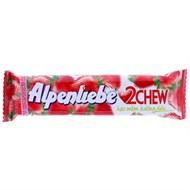Kẹo mềm Alpenliebe 2Chew hương Dâu thanh 24.5g