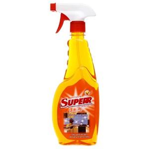 Nước lau bếp Superr hương cam chai 500ml