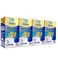 Sữa bột pha sẵn Dielac Alpha Gold hộp 110ml (lốc 4 hộp)