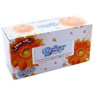 Khăn giấy Cellox Purify Facial hộp 180 tờ 2 lớp (190x190mm)