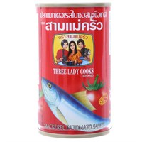 Cá nục xốt cà 3 Cô Gái 155g (nắp giựt)