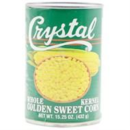 Bắp ngọt nguyên hạt Crystal 432g