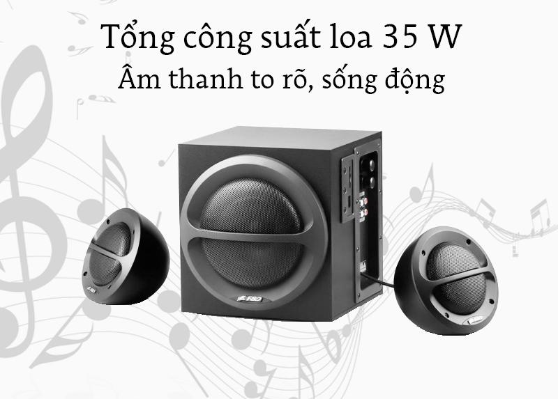 Loa vi tính Fenda A111 - Âm thanh và bass phát ra to rõ