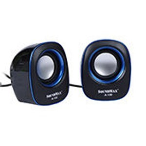 Loa vi tính SoundMax A-130/2.0 xanh