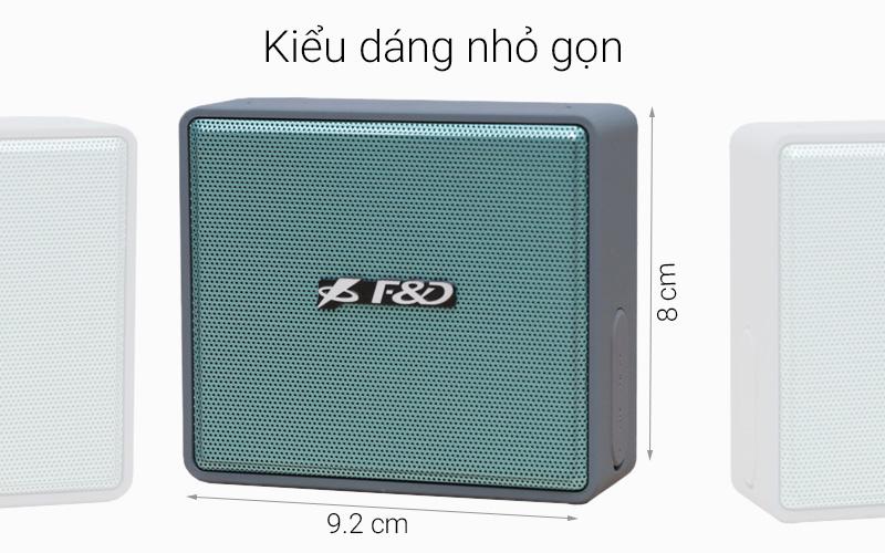 Loa Bluetooth Fenda W5 - Tổng thể thiết kế