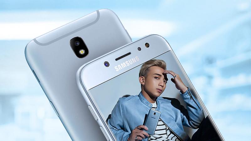 Bộ đôi camera của Samsung Galaxy J7 Pro