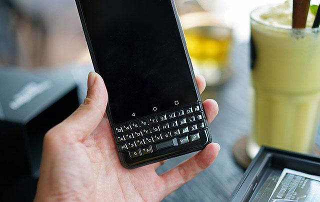 Bàn phím của BlackBerry luôn là một trong những điểm thu hút người dùng