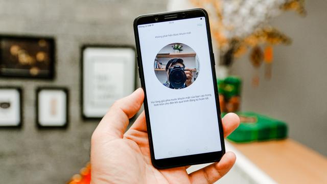 Bảo mật khuôn mặt Oppo A83