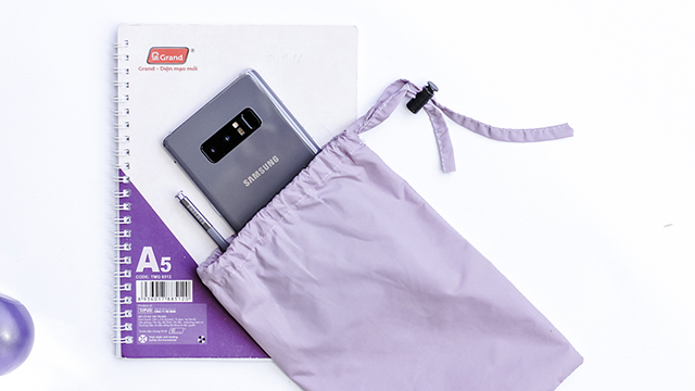 Cảm biến vân tay mặt sau Samsung Galaxy Note 8 Orchid Gray