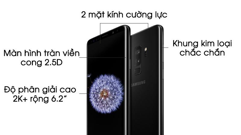 Thiết kế Samsung Galaxy S9 Plus thegioididong.com
