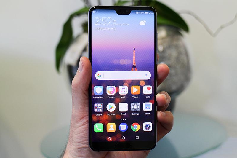 Thiết kế Huawei P20 Pro