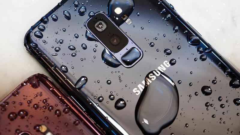 Điện thoại Samsung Galaxy S9+ 64GB (Xanh san hô)