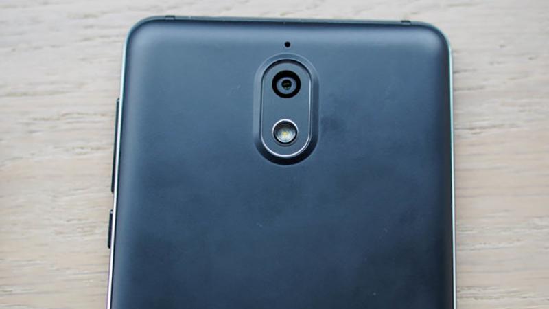 Cụm camera mặt sau của điện thoại Nokia 3.1
