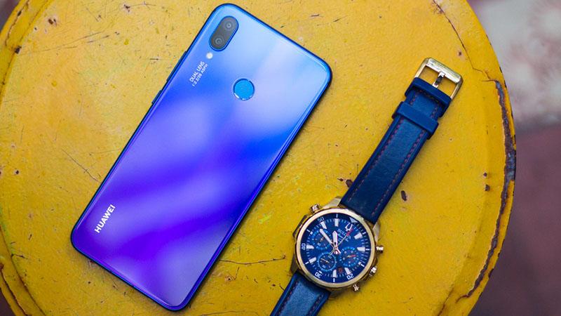 Thời lượng pin Huawei Nova 3i