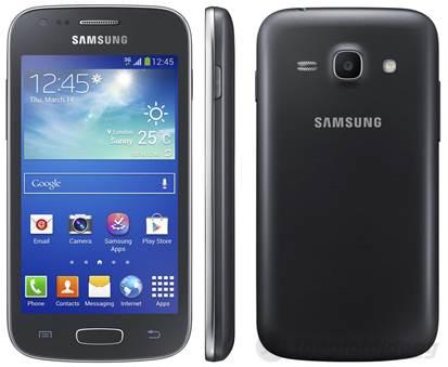 Samsung Galaxy Ace 3 với thiết kế truyền thống