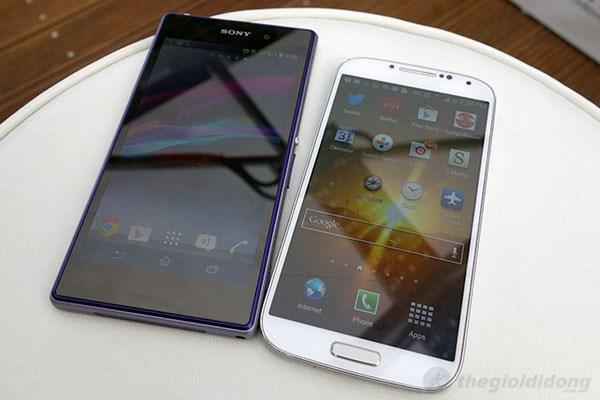 Galaxy S4 không phải là đối thủ về tốc độ xử lý của Z1