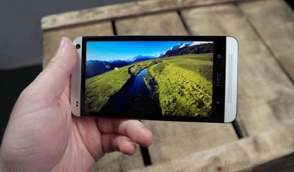HTC One màn hình có mật độ điểm ảnh lên đến 469ppi